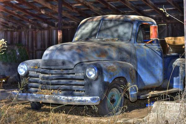 Photograph - Barn Find by Tony Baca