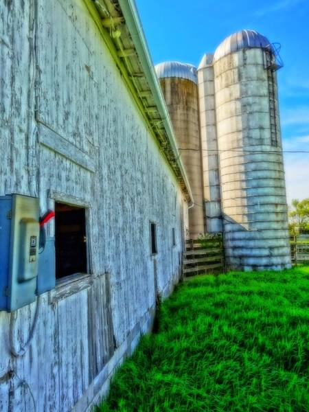 2x4 Wall Art - Photograph - Barn Hdr by Dan Sproul