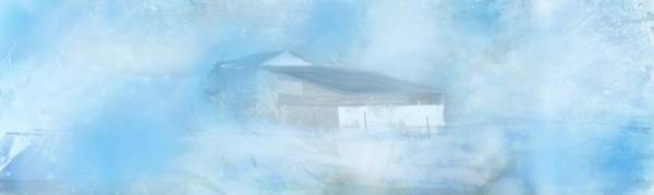 Wall Art - Photograph - Country Barn In Snow Storm by Marty Malliton
