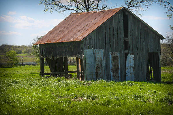 Photograph - Barn In Color by Jeff Mize