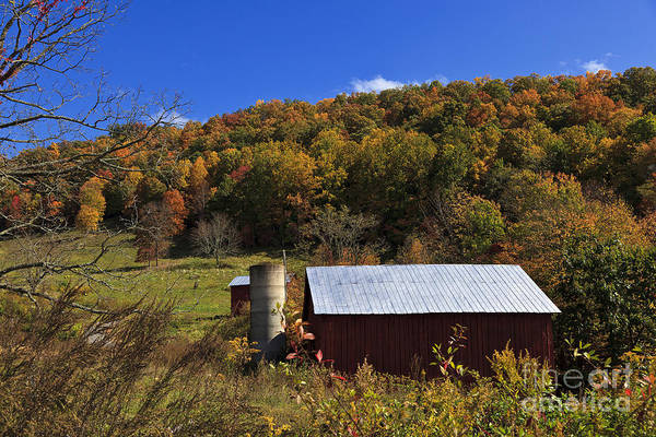 Photograph - Barn In The Mountains by Jill Lang