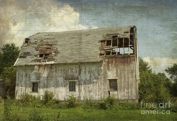 Luther Photograph - Barn - Lonely And Abandoned - Luther Fine Art by Luther Fine Art