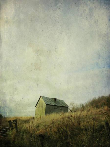 Barn Photograph - Barn On Hill by Francois Dion