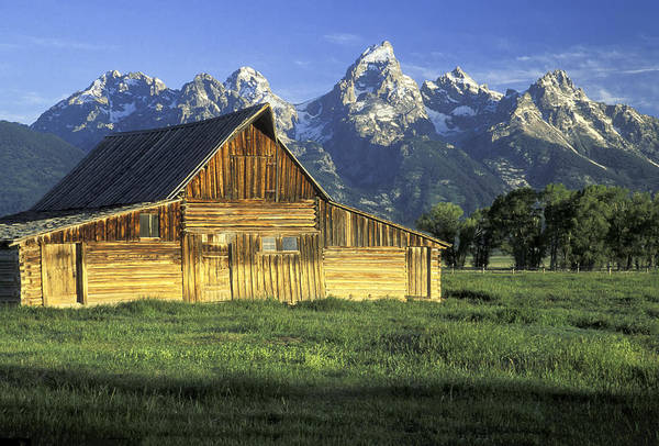 Photograph - Barn On Mormon Row by Jim Dollar