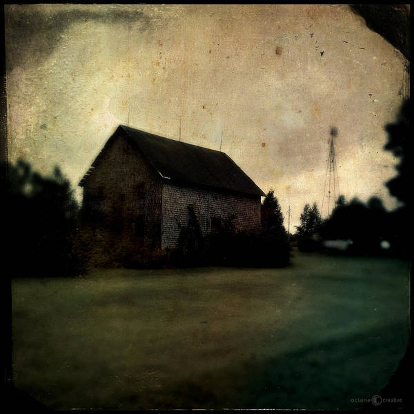 Photograph - Barn On Settlement Road by Tim Nyberg
