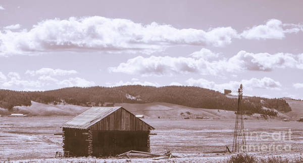 Photograph - Barn On The Prairie by Tim Mulina