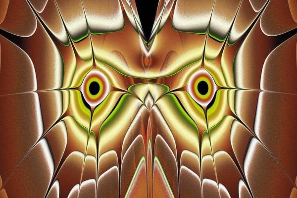 Digital Art - Barn Owl by Anastasiya Malakhova