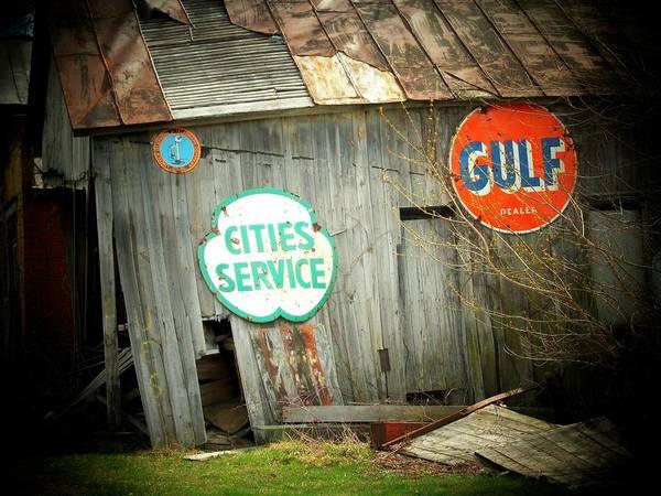 Wall Art - Photograph - Barn Signs by Michael L Kimble
