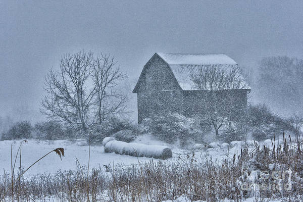 Wall Art - Photograph - Barn Storm by Roger Bailey