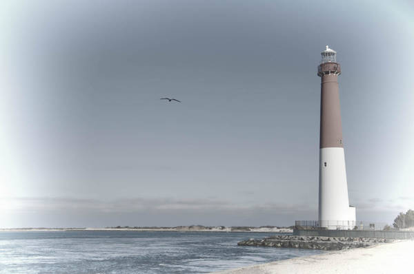 Photograph - Barnegat Lighthouse by Beth Sawickie