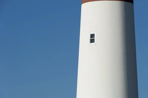 Photograph - Barnegat Lighthouse Nj Minimalist by Terry DeLuco