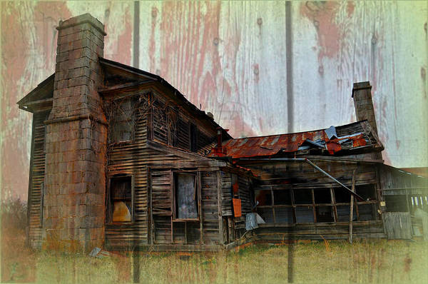 Photograph - Barnwood Mansion by Marty Koch