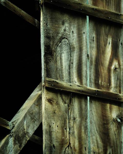 Wall Art - Photograph - Barnwood by Rebecca Sherman