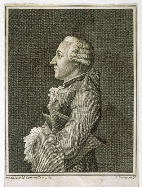 Wall Art - Drawing - Baron Friedrich Melchior Von Grimm by Mary Evans Picture Library