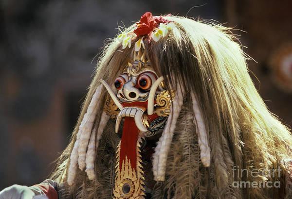 Folk Dances Photograph - Barong Dance by Ron Sanford