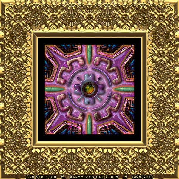 Digital Art - Baroquoco One  by Ann Stretton