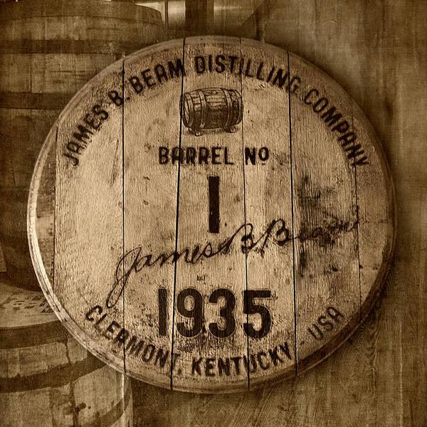 Kentucky Derby Wall Art - Photograph - Barrel No. 1 by Karen Varnas