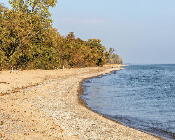 Photograph - Barrier Beach Pelee Point by Jack R Perry