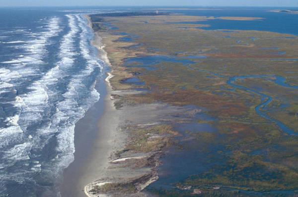 Wall Art - Photograph - Barrier Island Erosion by Carleton Ray