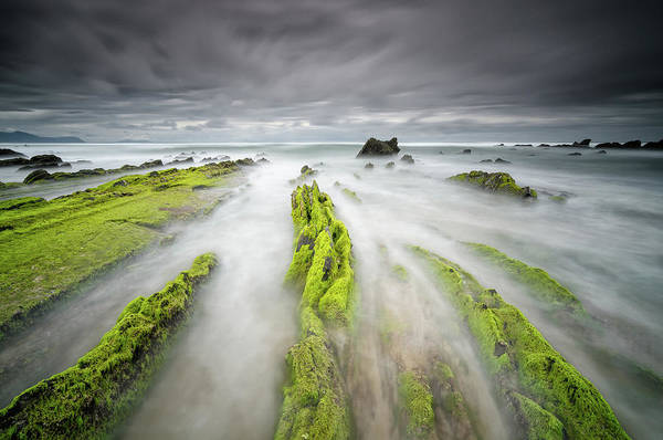 Moss Green Photograph - Barrika by Carlos J Teruel