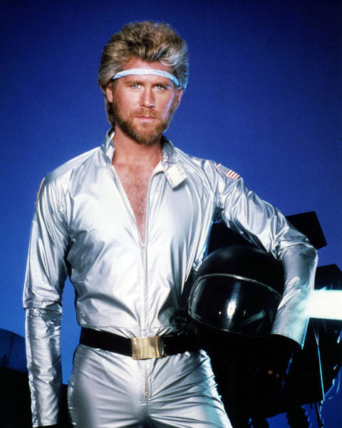 Wall Art - Photograph - Barry Bostwick In Megaforce  by Silver Screen