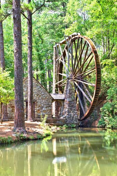 Photograph - Berry College's Old Mill by Gordon Elwell