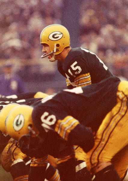 Wall Art - Photograph - Bart Starr In Charge by Retro Images Archive