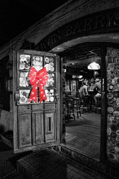 Wall Art - Photograph - Bartender - One Last Christmas Drink by Lee Dos Santos