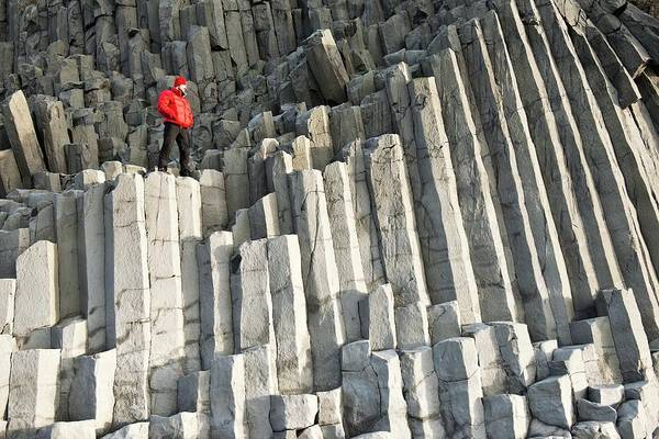 Basalt Columns Photograph - Basalt Columns by Jeremy Walker