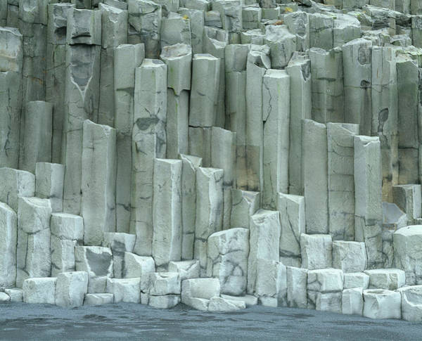 Basalt Columns Photograph - Basalt Columns by Martin Bond/science Photo Library