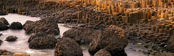 Basalt Photograph - Basalt Columns Of Giants Causeway by Panoramic Images