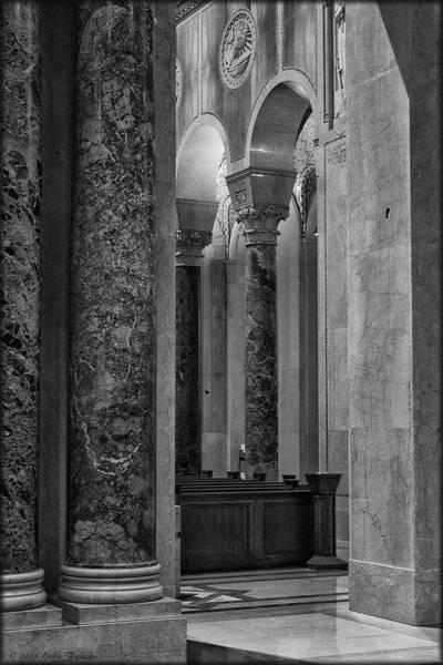 Photograph - Basilica Hall by Erika Fawcett