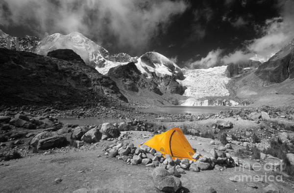 Photograph - Base Camp by James Brunker