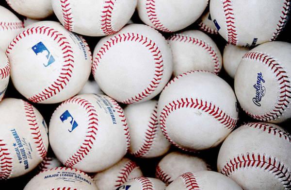 Mlb Photograph - Baseball Color by Joe Hamilton