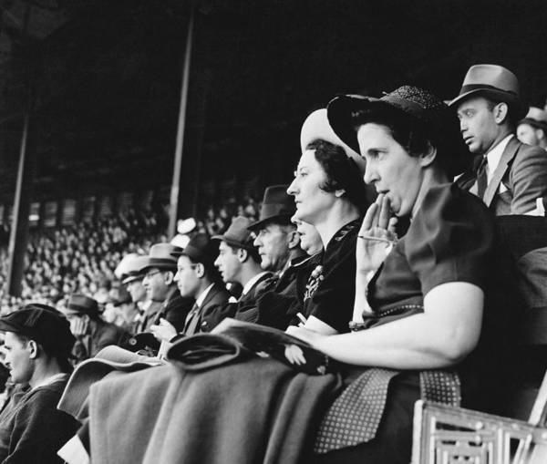 Polo Photograph - Baseball Fans At Polo Grounds by Underwood Archives