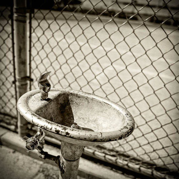 Faucet Photograph - Baseball Field 13 by YoPedro