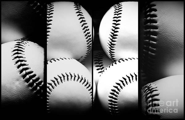 Photograph - Baseball Panels by John Rizzuto