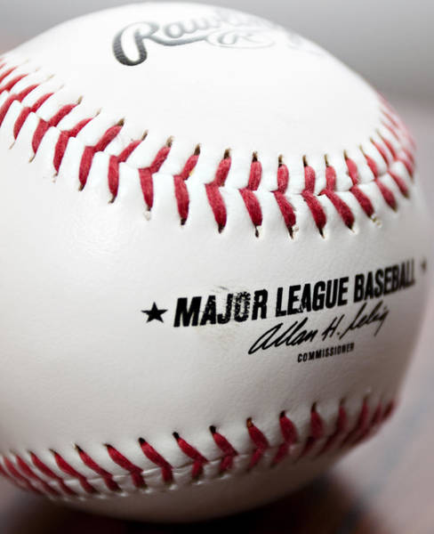 Wall Art - Photograph - Baseball by Ricky Barnard