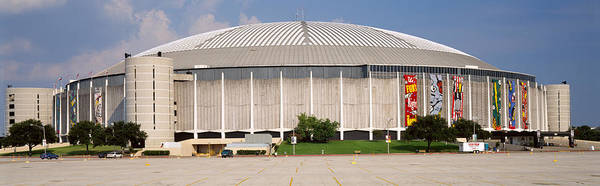 Wall Art - Photograph - Baseball Stadium, Houston Astrodome by Panoramic Images