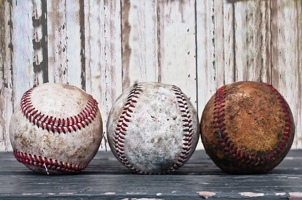Ball Photograph - Baseballs by Ulrich Mueller