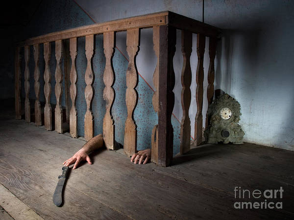 Horrible Photograph - Basement Fear by Sinisa Botas