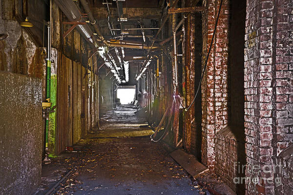 Photograph - Basement Of An Old Mill by Alana Ranney