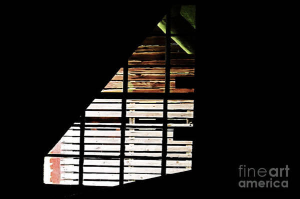 Bonneyville Mill Wall Art - Photograph - Basement Window by Tina M Wenger