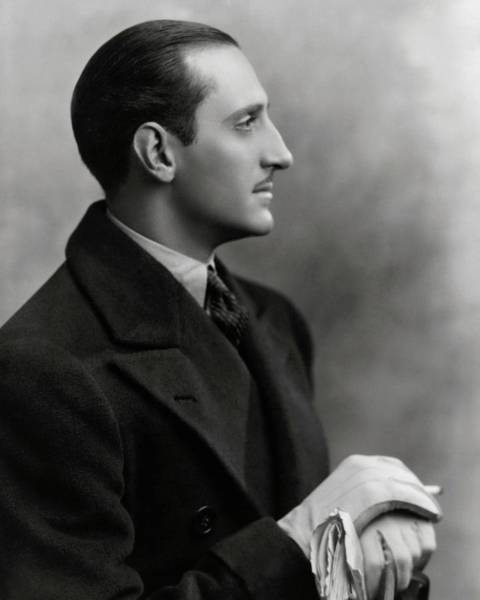 Wave Photograph - Basil Rathbone In The Play Heat Wave by Irving Chidnoff