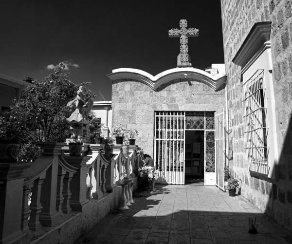 Photograph - Basilica De La Soledad Oaxaca by Lee Santa