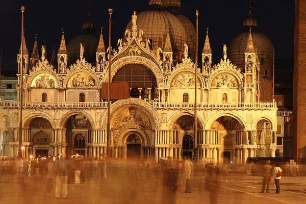 St Mark's Basilica Photograph - Basilica Di San Marco by George Buxbaum