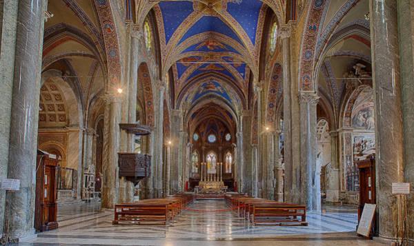 Basilica Di Santa Maria Sopra Minerva Art Print