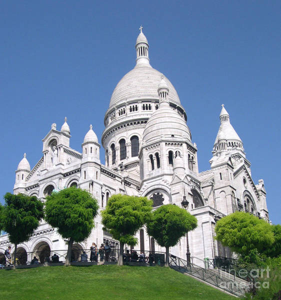 Photograph - Basilica Of Sacre-coeur by Andrea Anderegg