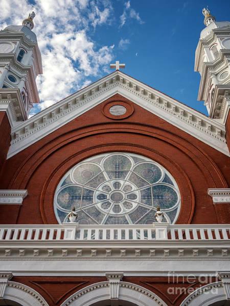 Photograph - Basilica Of Saint Stanislaus Kostka Front Detail by Kari Yearous