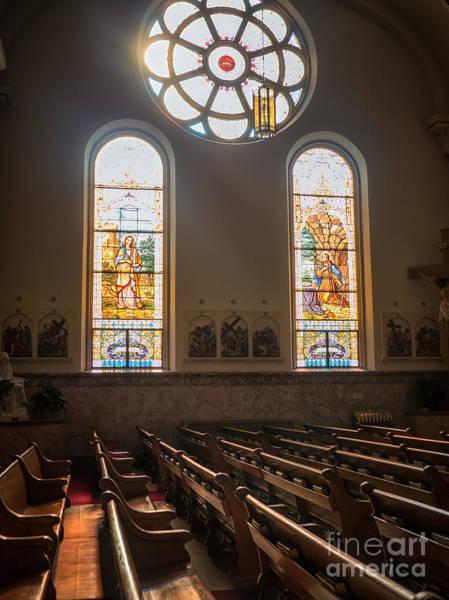 Photograph - Basilica Of Saint Stanislaus Kostka Interior by Kari Yearous